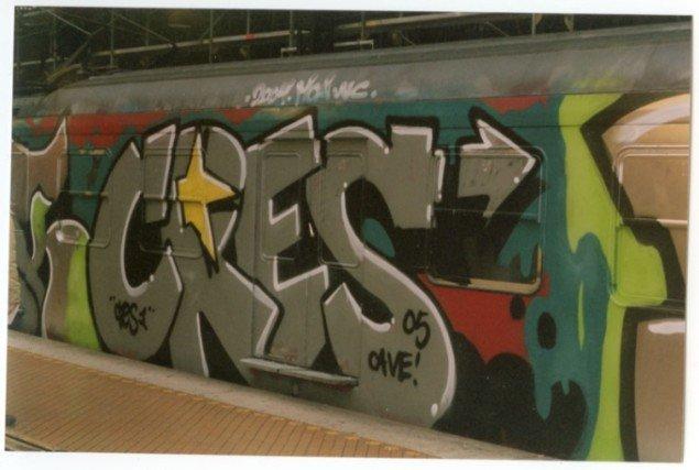 Top-2-bottom værk af Cres. (Foto: Cres og Dansk gadekunst)