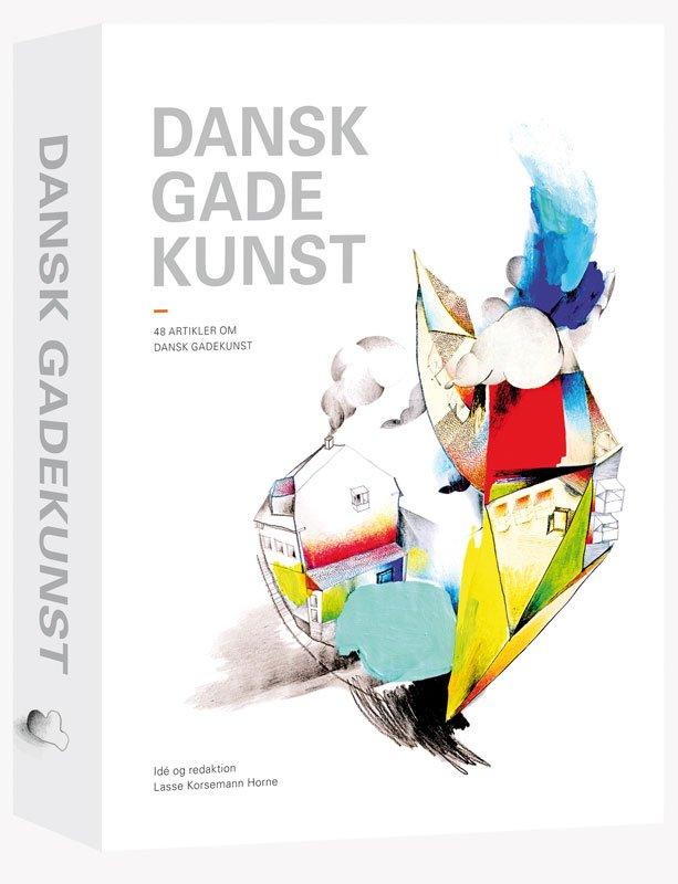 Cover til Dansk gadekunst af UltraGrøn..