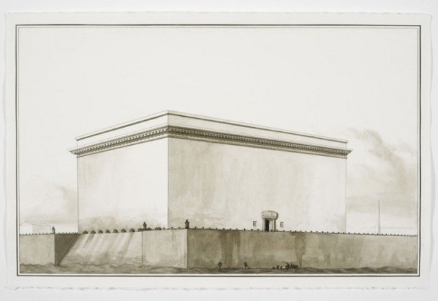 Pablo Bronstein: Grand Latrine in the French Manner, 2011.
