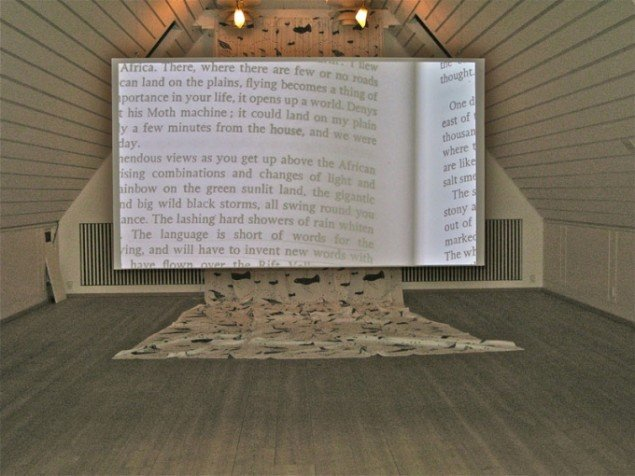 Nanna Debois Buhl og Brendan Fernandes: In Your Words, 2011. (Foto: Karen Johanne Bruhn)