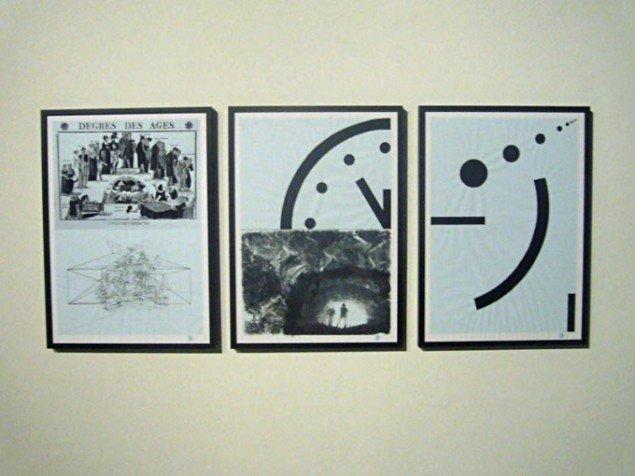 Værkserien Time Keeping, 2011. (Foto: Matthias Hvass Borello)