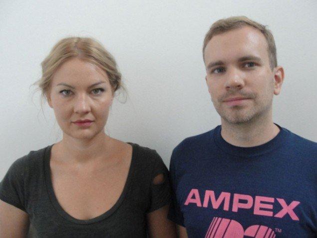Nathalie Djurberg og Hans Berg. (Foto: Gl. Strand)