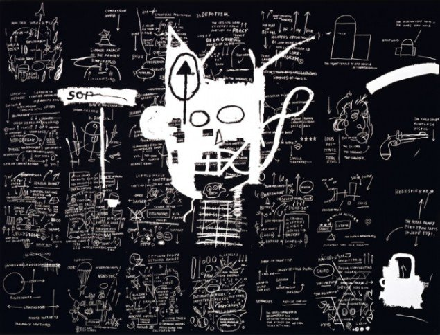 Jean-Michel Basquiat, Untitled, 1983. (Pressefoto)