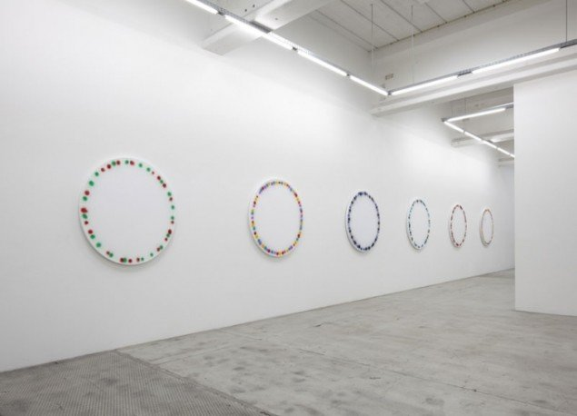 World Time Clock and Used Cars, 2011. Installation view. (Foto: Anders Sune Berg)