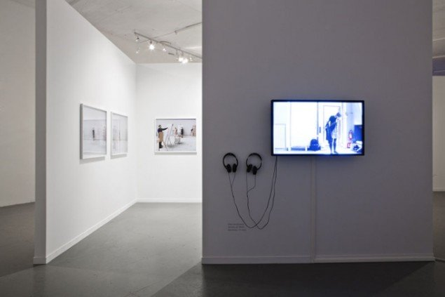 Elina Brotherus (FIN): Artists at Work, 2009, Momentum kunsthall. (Foto: Vegard Kleven)