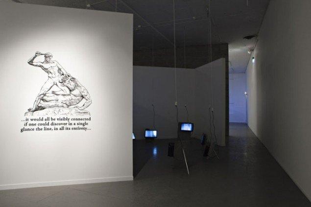 Michael Baers (US): Minotaur, 2011.  Momentum kunsthall. (Foto: Vegard Kleven)