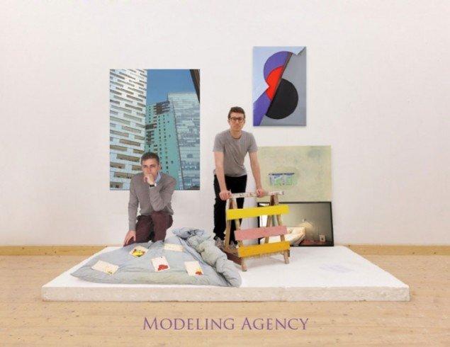 Flyer til udstillingen. Janus Høm (t.v.) og Martyn Reynolds (t.h.). (Foto: Tobias Selnaes Markussen)