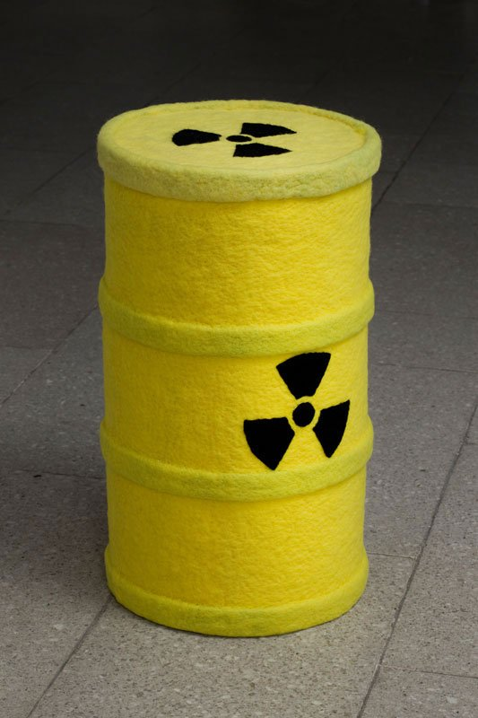 Nucleargifttønde (Foto: Erling Lykke Jeppesen)