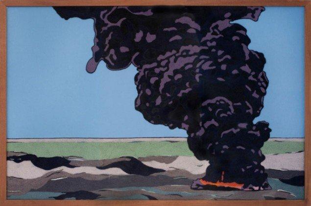 Oliebrændskab (Foto: Erling Lykke Jeppesen)