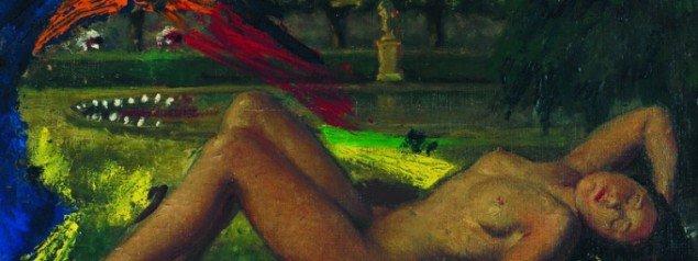 Asger Jorn: Abendständchen [Aftenserenade], 1960. © Galerie van de Loo.