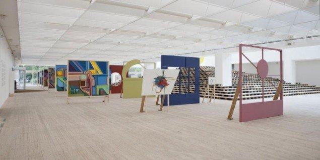 Installationsview: Chris Johanson, Alright Alright, 2011 (Foto: Helene Toresdotter)
