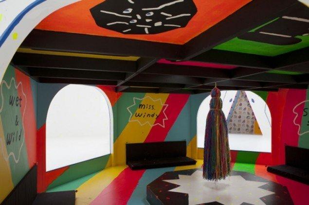 Installationsview: Misaki Kawai, Big Bubble, 2011 (Foto: Helene Toresdotter)