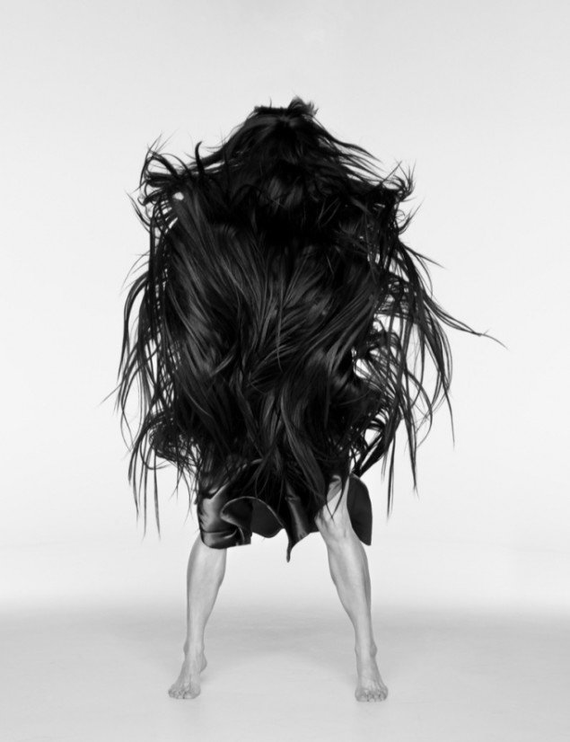 Lilibeth Cuenca Rasmussen: Afghan Hound (Hairball), 2011, © Lilibeth Cuenca Rasmussen. Foto © Anders Sune Berg.
