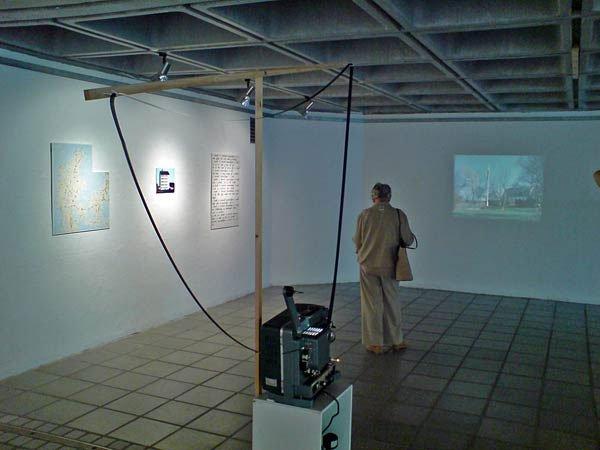 Installation af Thomas Gunnar Bagge. Foto: Jan Falk Borup.