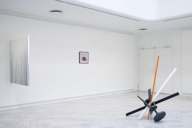 Installationsview, TETRIS. (Foto: Jakob Hunosøe)