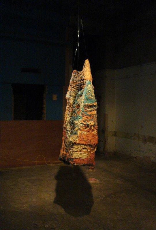 Museum of Everything, skulptur af Judith Scott, (Foto: Cecilie Gravesen)