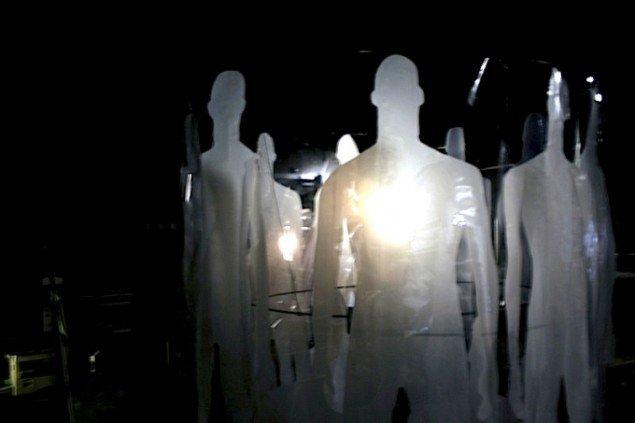 Ghost af billedkunstnerne Karen Marie Fredslund og Lisbeth Thingholm. Foto: Maja Sandberg.