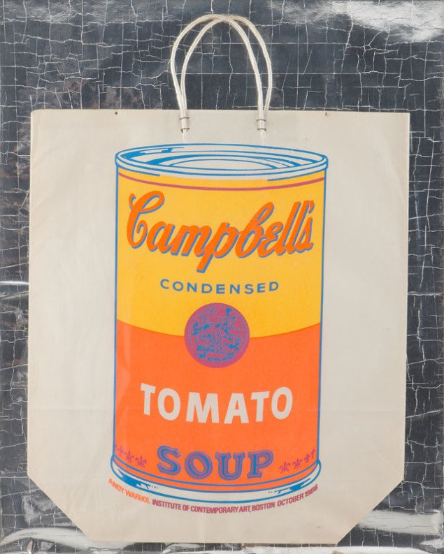 Andy Warhol Cambells Tomato Soup, 1966 (Pressefoto, KØS)