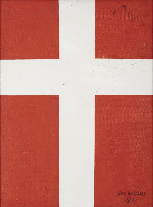 Sven Dalsgaard Flag (Pressefoto, KØS)