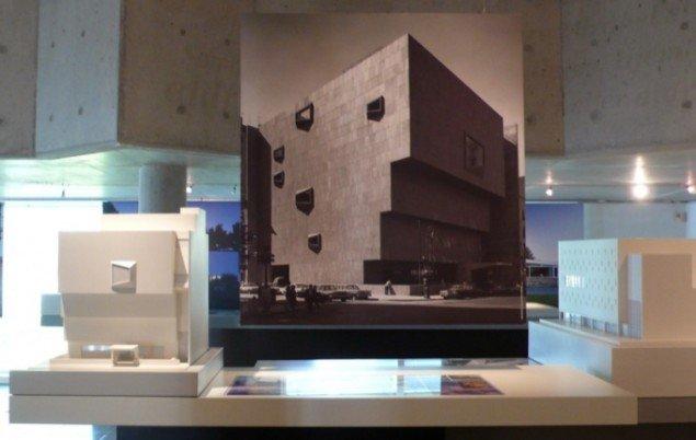 Arkitekturmodel af The Whitney Museum of American Art. Foto: Lea Kirstine Møller.