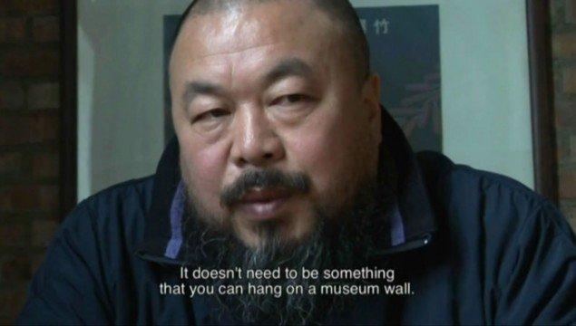 Ai Weiwei: Fairytale, 2007, 152 min. (still fra YouTube)