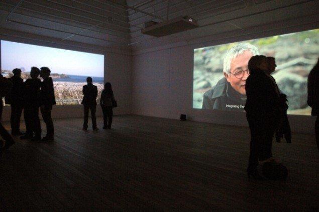 Udstillingsview fra udstillingen Reiterations of Dissent af Jane Jin Kaisen på Århus Kunstbygning. Foto: Jens Møller.