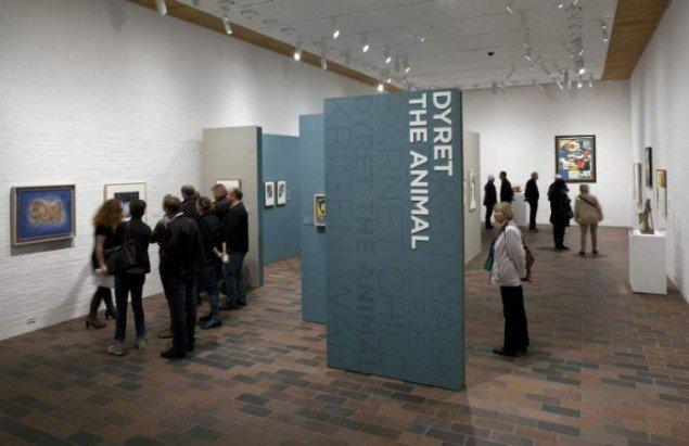 Installation shot fra udstillingen (Foto: Brøndum & Co/Poul Buchard)