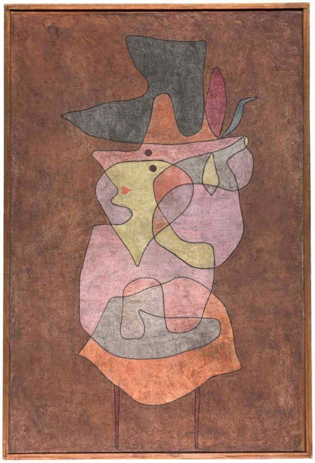 Damedæmon Paul Klee, 1935 (Foto: Zentrum, Paul Klee, Bern)