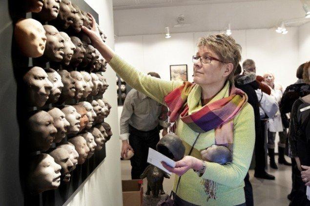 Foto fra Art Herning 2011. Pressefoto.