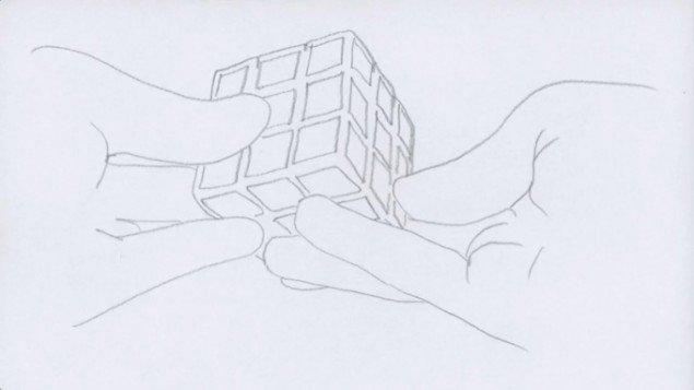 Jesper Carlsen: Rubix, still fra video, 2011. Pressefoto.