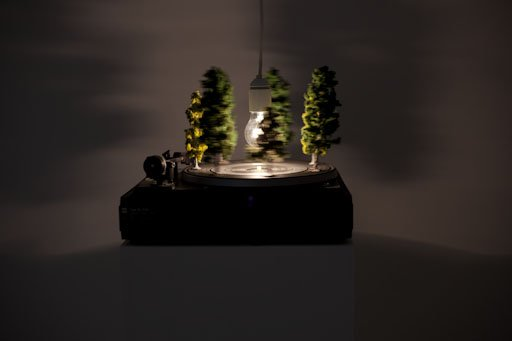 Jesper Carlsen: Colour Vision, 2009, til udstillingen Effects on Consciousness på Martin Asbæk Gallery. Pressefoto.