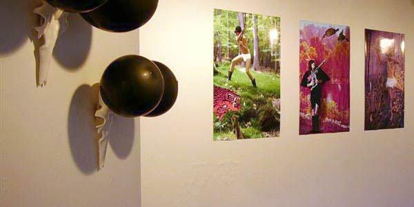 Del af udstillingen Paralysed in Paradise af Edith Payer, december 2006. Foto: Hans Henrik Jacobsen.