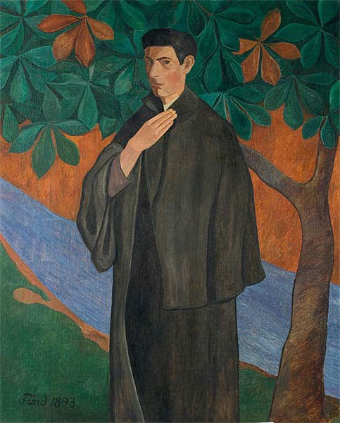 Ludvig Find: Portræt af en ung kunstner, 1893. Foto: Anne-Mette Villumsen.