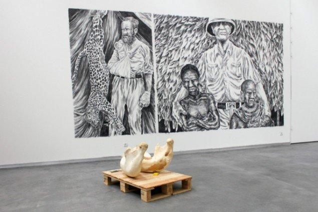 Asbjørn Skou: Fra Impossible Society, 2011, Vejle Kunstmuseum. Pressefoto.