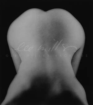 """Lee Miller, """"Nøgen figur foroverbøjet"""", Paris, Frankrig, c. 1930 ©Lee Miller Archives, England. All Rights Reserved."""