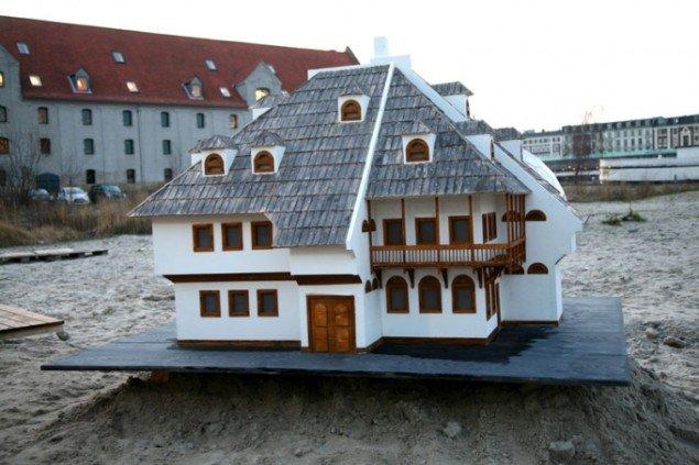 Amel Ibrahimovic: Bosnian House Konak. (Foto: Anja Franke)