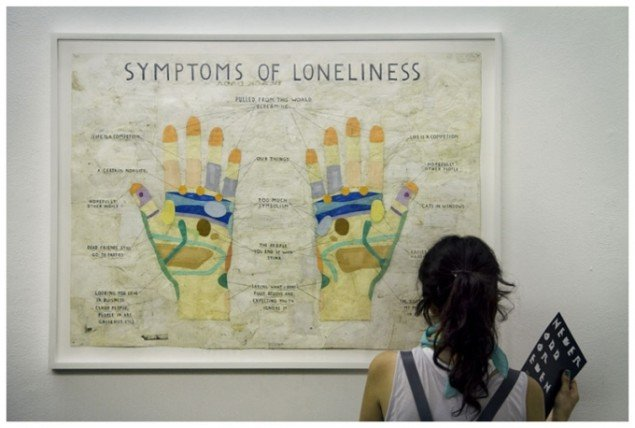 Symptoms of Loneliness, Simon Evans, 2009. (Foto: Laura Gianetti)