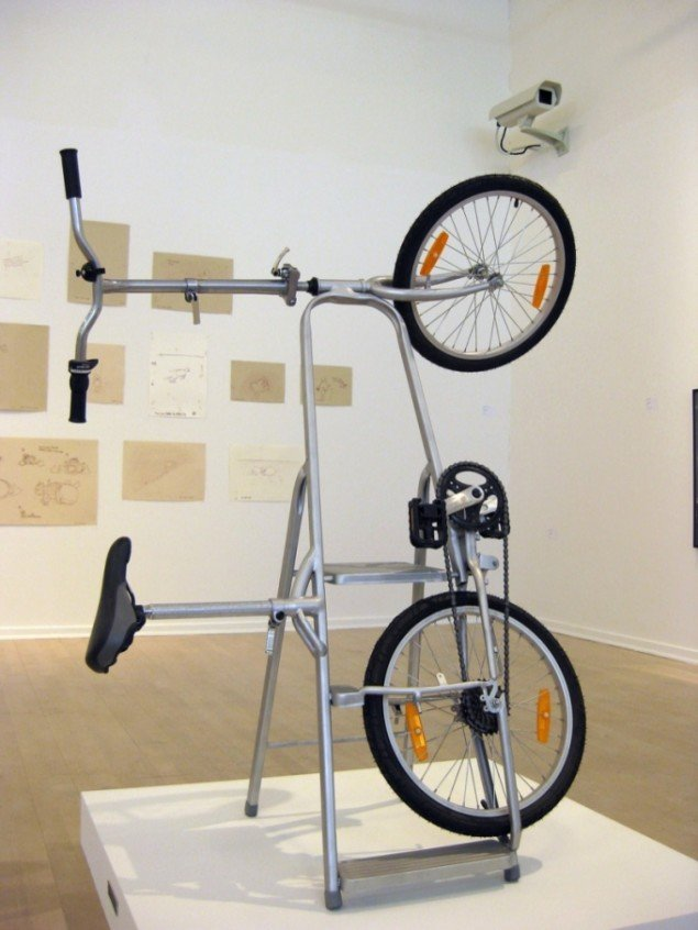 Morten Steen Hebsgaard: Ladder Bike – Bike Ladder, 2007. Foto: Kasper Lie.
