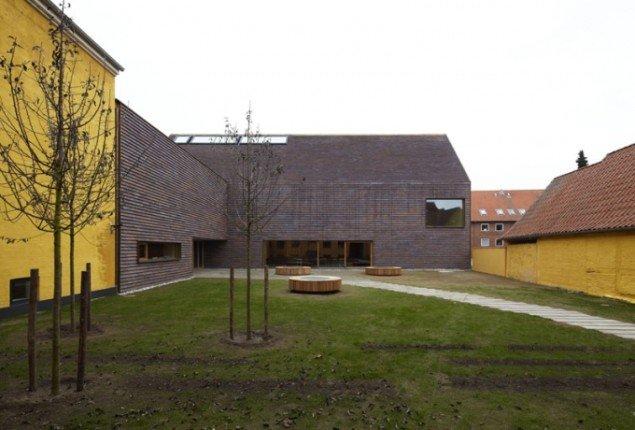 Det nye Sorø Kunstmuseum set udefra, tegnet af Lundgaard & Tranberg Arkitekter. (Foto: Anders Sune Berg)