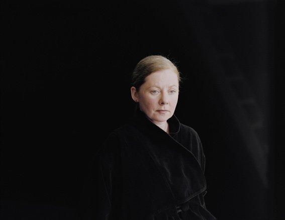 Pernille Koldbech Fich: Black [right, ladder], 2010-2011, 89 x 113 cm.