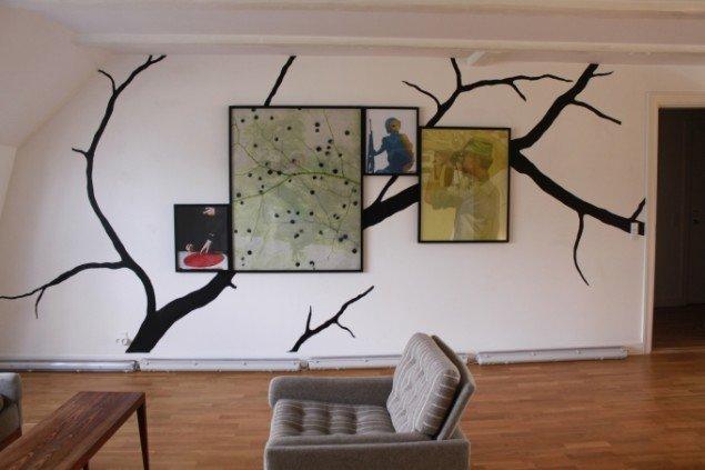 Udsnit af Peter Holst Henckels udstilling(Foto: Thomas Andersen)