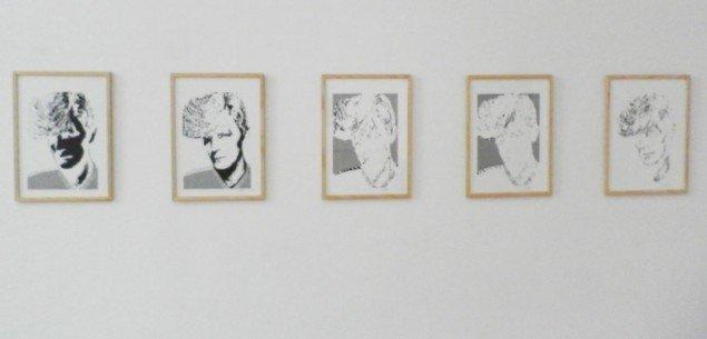 Charlotte & Sture Johannesons tidlige digitale grafik. Foto: Kristian Handberg.
