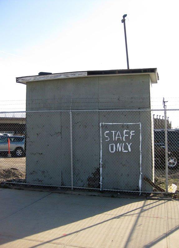 Staff only, 2012. Foto: Søren Behncke.