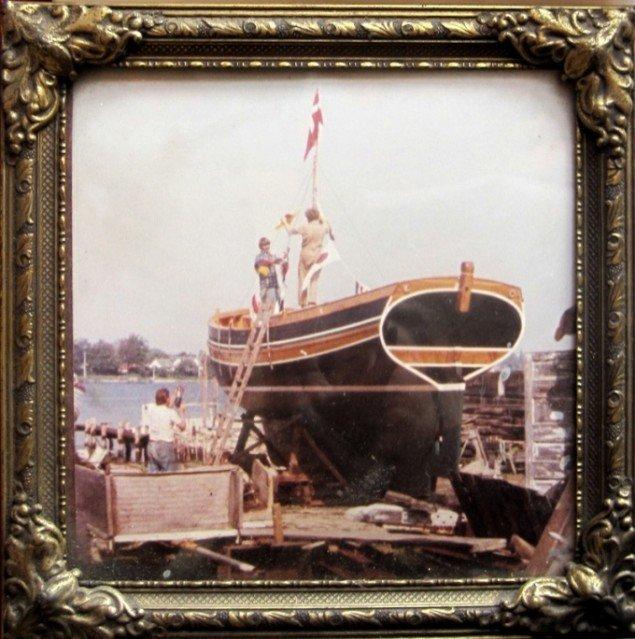 Espen Arnakke ship, 2011, lånt fotografi fra 1978.