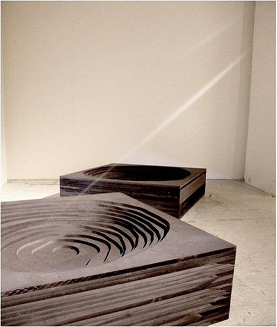 Usynlige sten, 2011. Foto: Mie Olise.