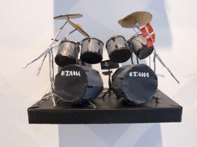 Rose Eken Metallica. Lars Ulrich. Foto: Rose Eken.