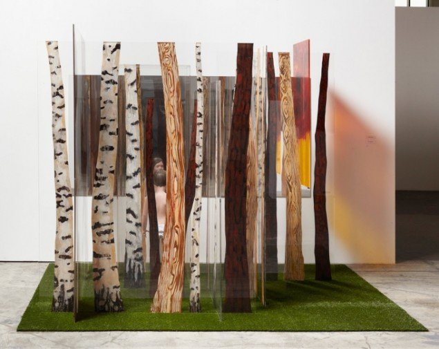 Leonard Forslund: In The Forest of Paint, 2010, 300 x 230 x 226 cm. Pressefoto.