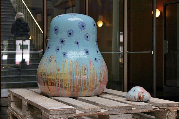 Keramik af Rut Ingólfsdóttir. Foto: Mette Harbo Lehmann.
