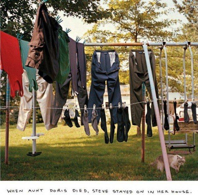 Chris Verene: When aunt Doris died Steve stayed on in her house (udsnit), 2008.