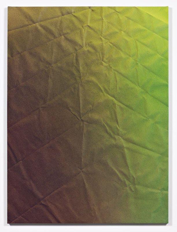 Tauba Auerbach: Untitled (Fold), 2011